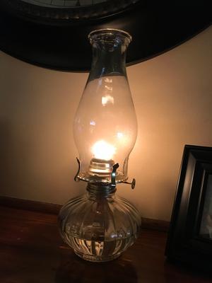 Florasense Glass Oil Lamp, Clear - Walmart.com
