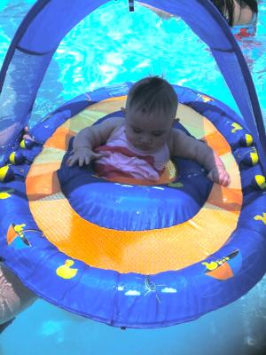 sc 1 st  Walmart & Swimways - Babyu0027s Spring Float with Canopy - Walmart.com