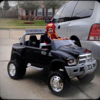 kid trax ram dually 12 volt battery powered ride on walmartcom