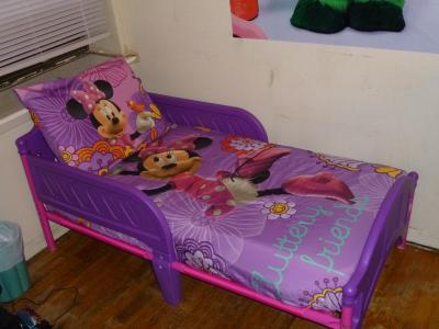 Lovely Disney Minnie Mouse Fluttery Friends Piece Toddler Bedding Set Walmart