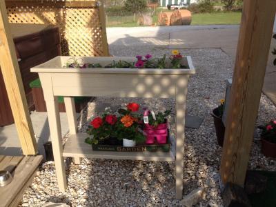 Beautiful Adams Deluxe Garden Planter   Walmart.com