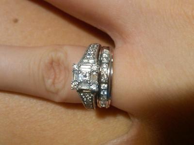 keepsake sincerity 12 carat tw certified diamond 10kt white gold engagement ring walmartcom - Wedding Rings At Walmart