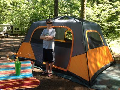 & Ozark Trail 13x9 Cabin - Walmart.com