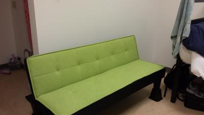 Color Block Futon Adjustable Sofa, Multiple Colors   Walmart.com