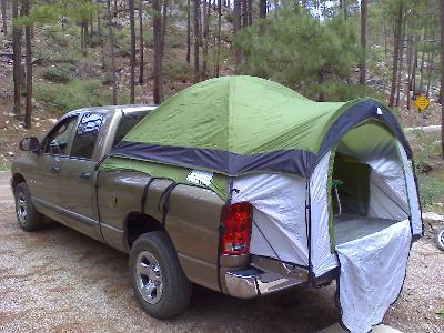 & Ozark Trail Dome Truck Tent - Walmart.com