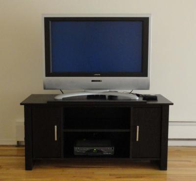 Mainstays TV Stand For Flat Screen TVs Up To 47 Multiple Finish
