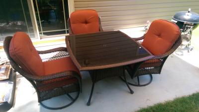 Better Homes And Gardens Azalea Ridge 5 Piece Patio Dining Set Seats 4