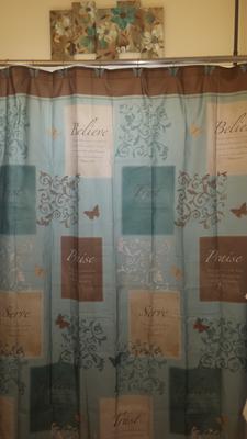 Lovely Butterfly Blessings Shower Curtain   Walmart.com