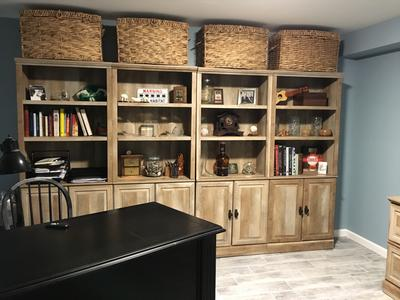 Better Homes And Gardens Crossmill Bookcase With Doors, Multiple Finishes    Walmart.com
