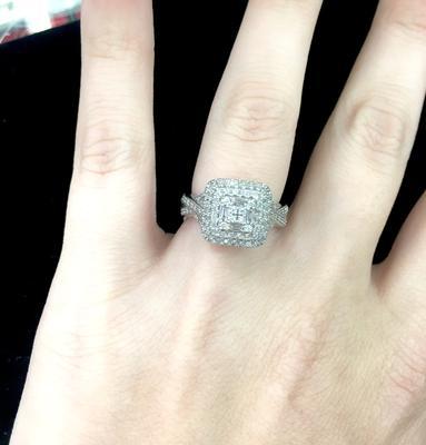 Keepsake Holiday 1/2 Carat T.W. Certified Diamond Sterling Silver ...