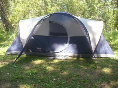 & Coleman Elite Montana 8-Person Dome Tent with LED Light - Walmart.com