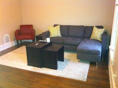 Beau Dorel Living Small Spaces Configurable Sectional Sofa, Multiple Colors    Walmart.com