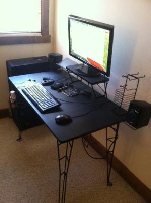 Black Gaming Desk
