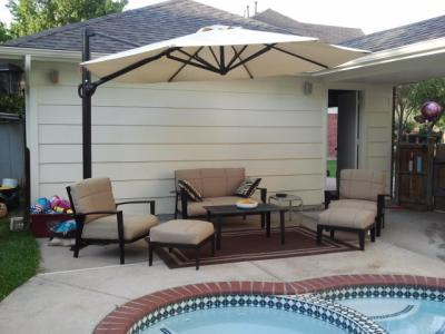 peachy better homes and gardens patio furniture replacement cushions.  Home Trends 6pc Urban Haven Ii Patio Set Walmart com