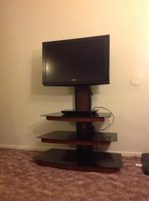tv stand walmart. fabulous tv stand mount walmart pictures amazing whalen tier cherry brown flat panel with \