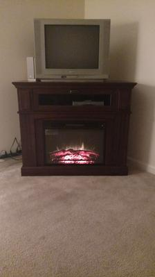Whalen Sumner Corner Media Electric Fireplace for TVs up to 45 ...