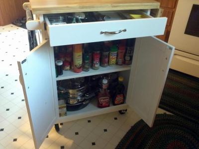 100+ [ Mainstays Multi Purpose Kitchen Cart Multiple Colors ...