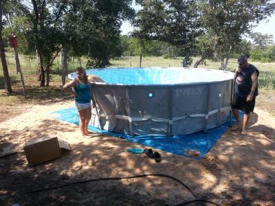 intex 16 x 48 ultra frame swimming pool walmartcom