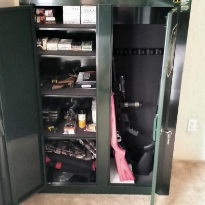 Fresh Stack On 10 Gun Double Door Cabinet Decorating Ideas