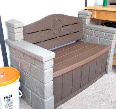 Superior Step2 Outdoor Storage Bench   Walmart.com