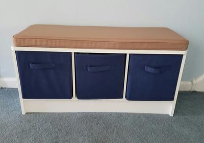 ClosetMaid 3 Cube Bench, White   Walmart.com