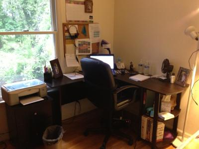 L Shaped Desk With Side Storage, Multiple Finishes   Walmart.com