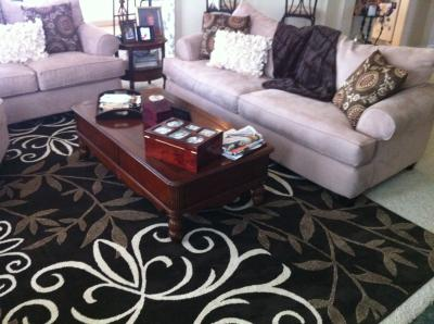Better homes and gardens iron fleur area rug home decor - Better homes and gardens iron fleur area rug ...