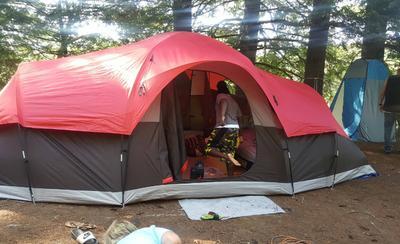 & OT 21u0027 x 15u0027 Family Tent Sleeps 10 - Walmart.com