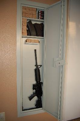 Merveilleux Stack On IWC 55 Full Length In Wall Gun/Storage Cabinet   Walmart.com