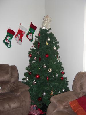 Holiday Time 7' Pre-Lit Douglas Fir Artificial Christmas Tree ...
