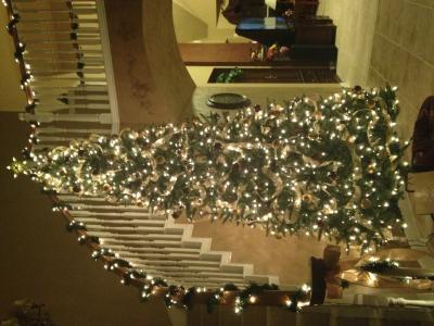 Slim Artificial Pre Lit Christmas Trees