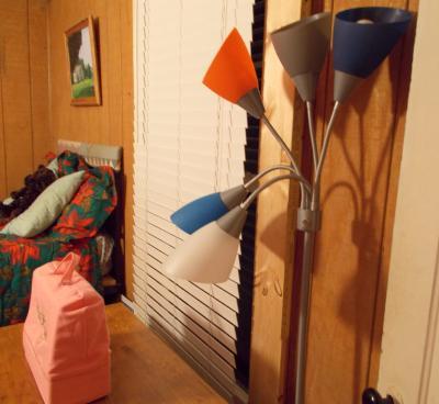 . Mainstays 5 light Floor Lamp   Walmart com