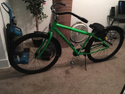 32 Kent Super 32 Unisex Beach Cruiser Bike Green