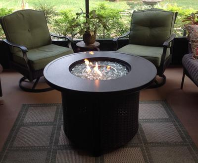 Better Homes and Gardens Colebrook 37 Gas Fire Pit Walmartcom