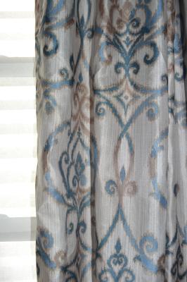 Better Homes and Gardens Ikat Scroll Curtain Panel - Walmart.com