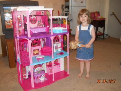photo?client=walmart mattel barbie 3 story dreamhouse walmart com Barbie Dreamhouse at eliteediting.co