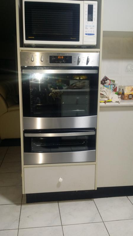 Stainless steel multifunction duo oven (WVE626S