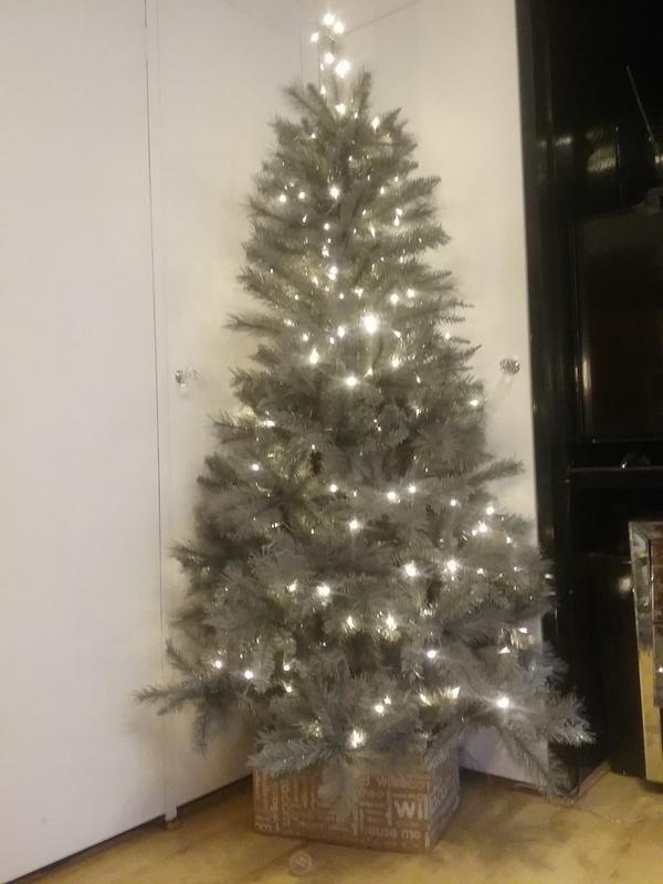 2 Christmas Tree.Wilko 6ft Twilight Spruce Artificial Christmas Tree