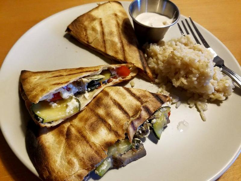 how to make vegetarian quesadillas