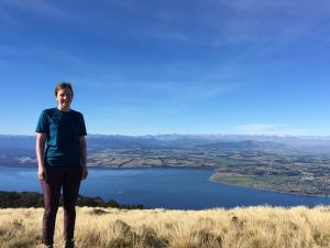 Tramping in New Zealand :)