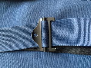 Bretelle cassée = sac inutilisable. Moins d'un an