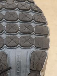 Sole of shoe after 2 runs
