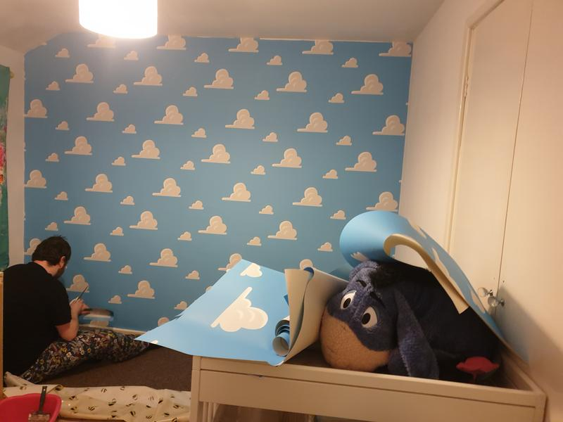 Disney Toy Story Andy S Room Wallpaper Very Co Uk