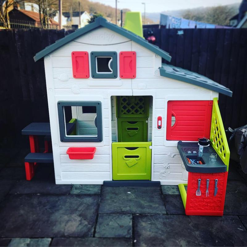 Smoby Friends Playhouse With Kitchen Very Co Uk